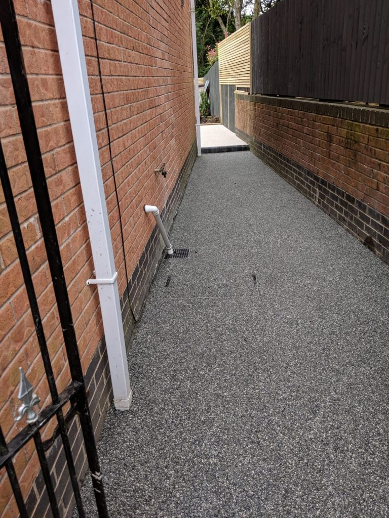 nordic pearl side path with infill inspection cover